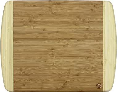 "Totally Bamboo Kauai Bamboo Serving & Cutting Board, 14"" x 11.5"", Kauai-14 x 11 1/2"""