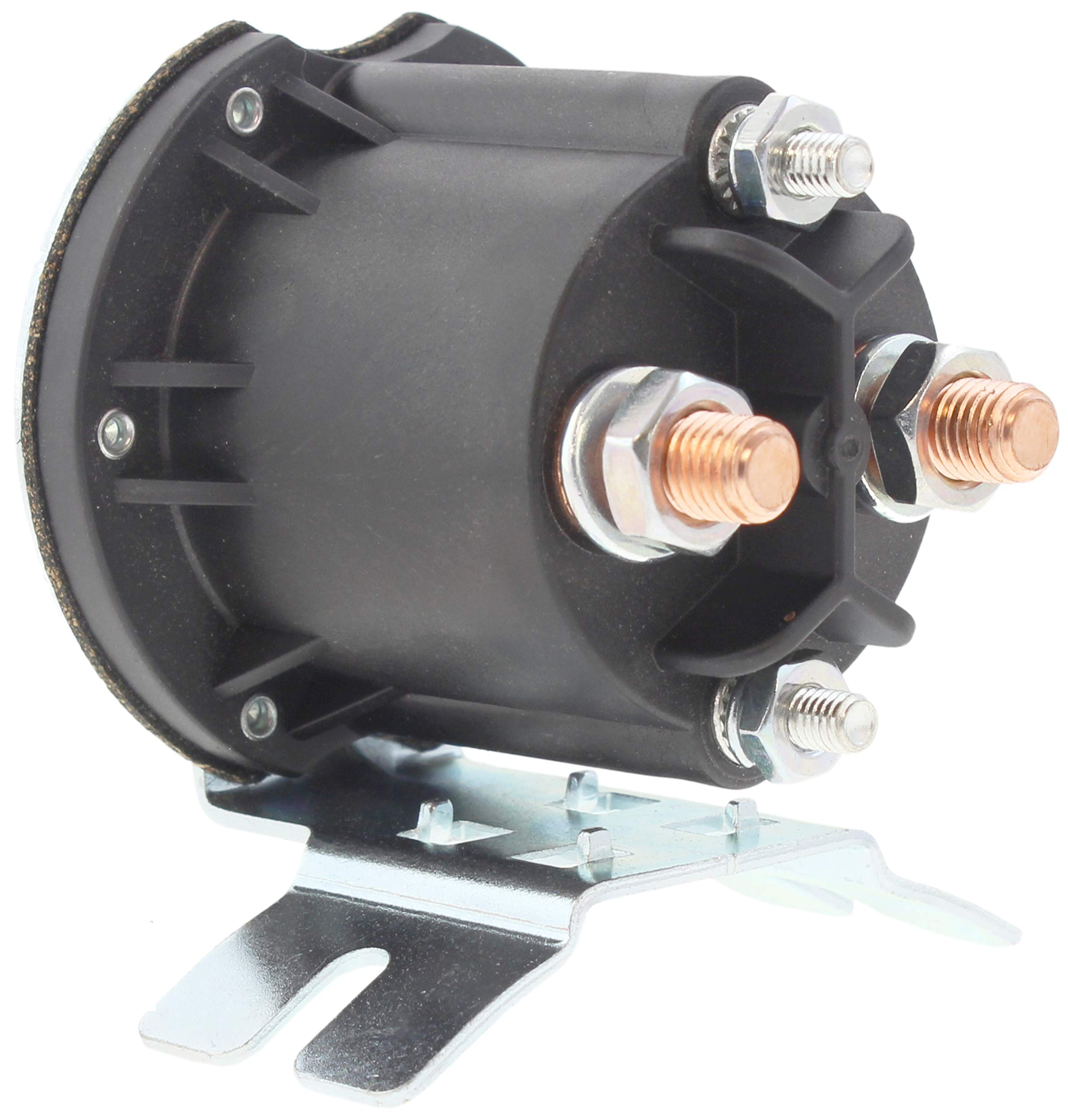 New Premium OEM Trombetta Solenoid Relay Switch fits Primer Pump Motors 12V 200A Insulated 4 Terminal Curved Mount