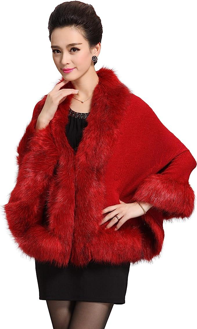 Caracilia Women Luxury Cloak Coat