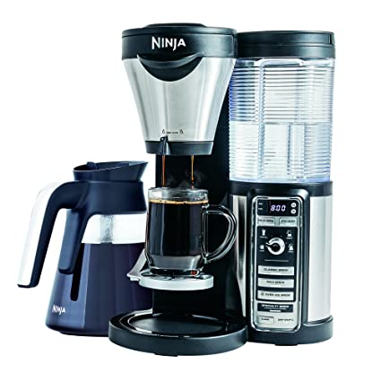 .com: ninja coffee maker for /iced coffee with 4 brew sizes ...