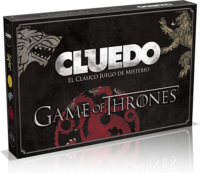 Winning Moves Cluedo Juego De Tronos (81335), multicolor ...