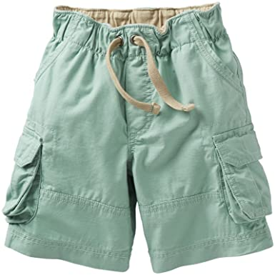 dc4ff248d Amazon.com  Carter s Baby Boys  Cargo Shorts (Baby) - Mint - 3 ...