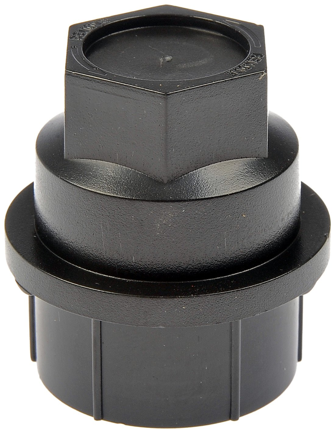 Dorman 711-025 Black Wheel Nut Cover - M27-2.0, Pack of 4