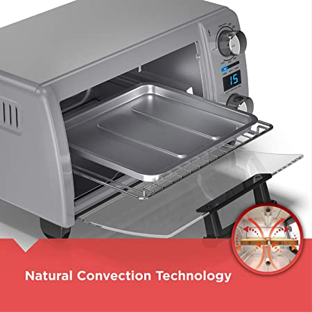 Amazon.com: black+decker 4-slice convección natural Digital ...