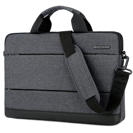 bb3032efc2 Amazon.com  BRINCH 15.6 Inch Laptop Shoulder Bag