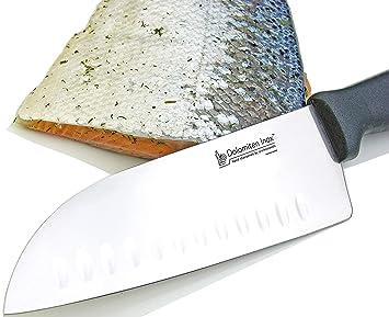 Dolomiten Inox - Cuchillo de cocina santoku (20,2 cm ...