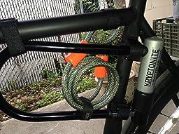 two fish lockblocks u lock mount bike u locks sports outdoors. Black Bedroom Furniture Sets. Home Design Ideas