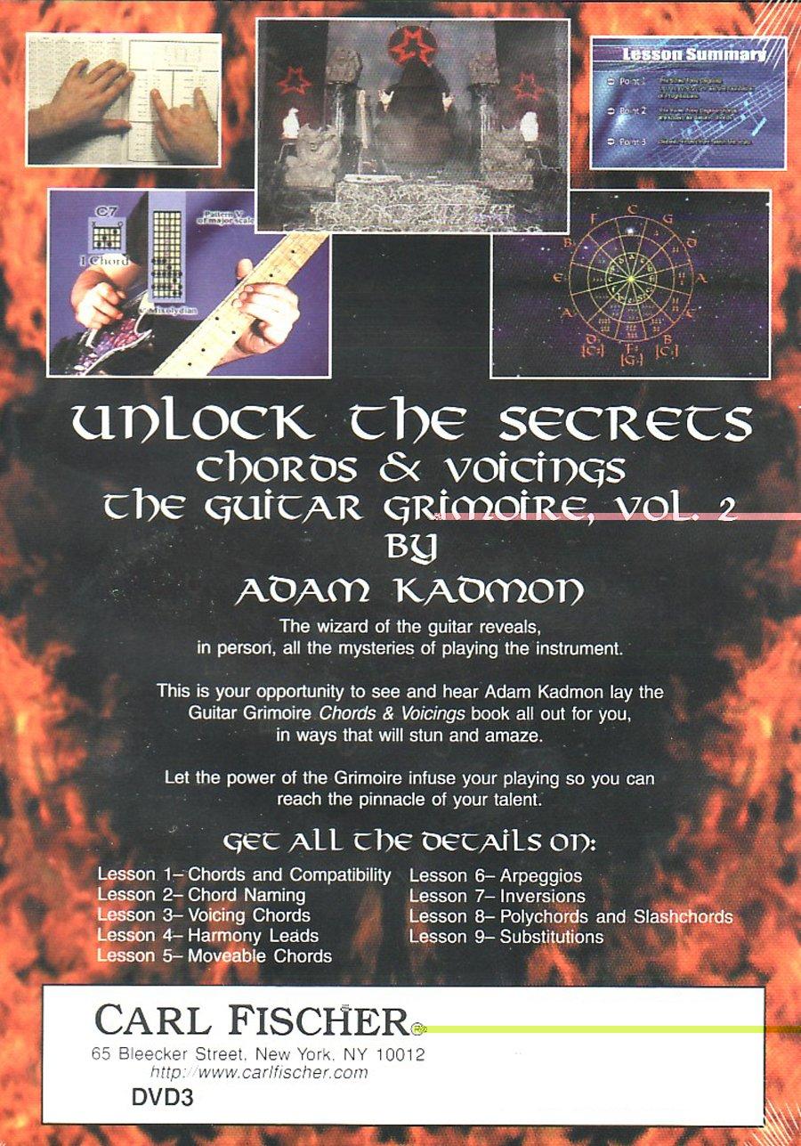 Amazon Guitar Grimoire Vol 2 Chords Voicings Dvd Adam