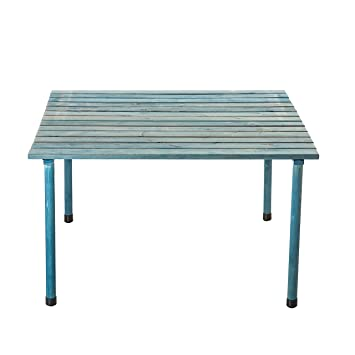 vytal rollup picnic table blue wash portable table perfect for outdoor