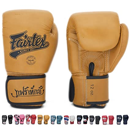 Amazon Com Fairtex Gloves Muay Thai Boxing Sparring Size 8 10 12