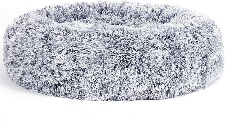FEANDREA Cama para Perro y Gato, Superficie de Terciopelo PV, 60 cm, PGW038G01