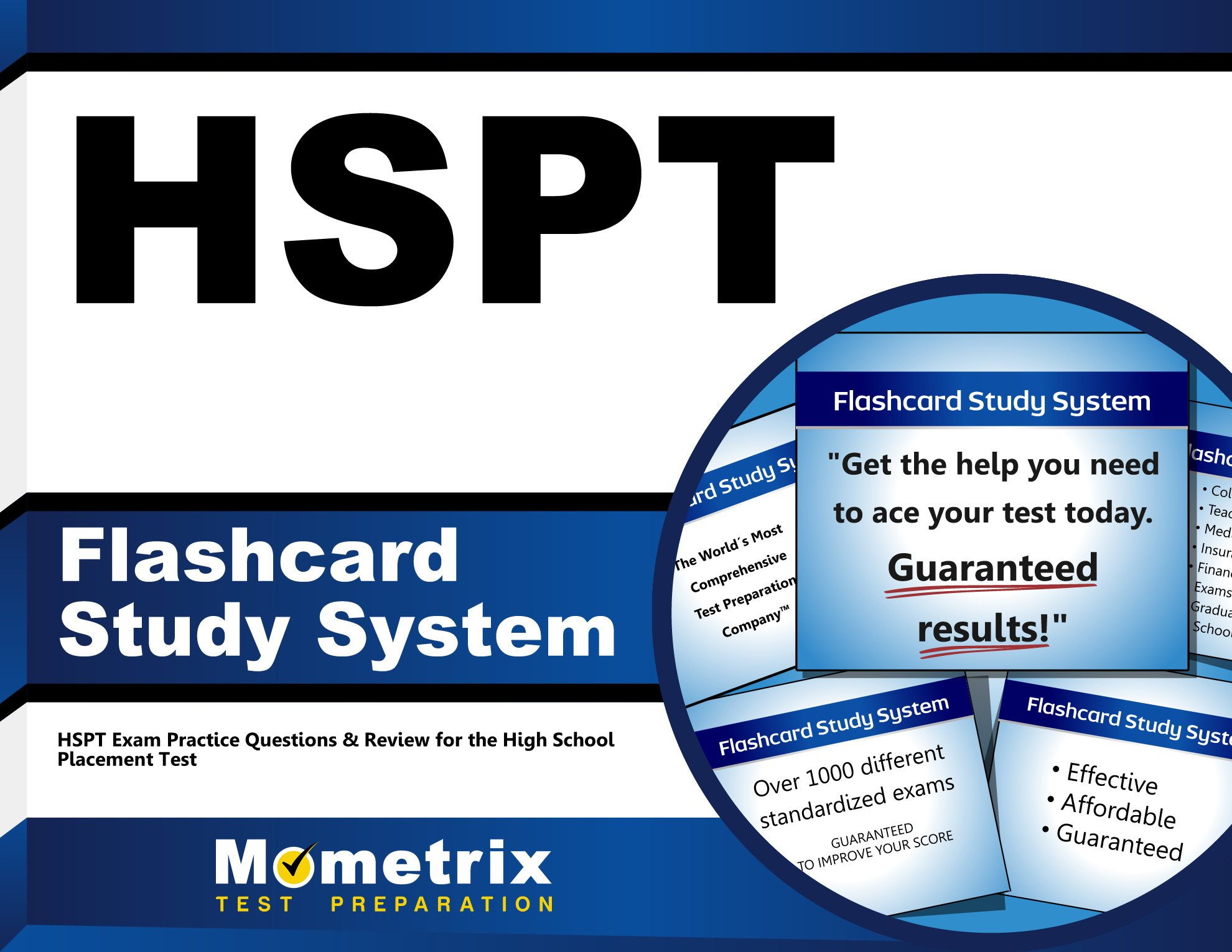 HSPT Flashcard Study System: HSPT Exam Practice Questions & Review for the  High School Placement Test (Cards): HSPT Exam Secrets Test Prep Team: ...