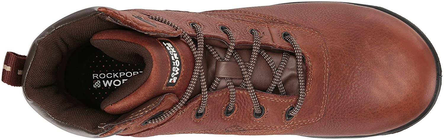 Rockport Work Men's Men's Men's RK6628 Work Stiefel,Deer Tan,13 M US c9d30f