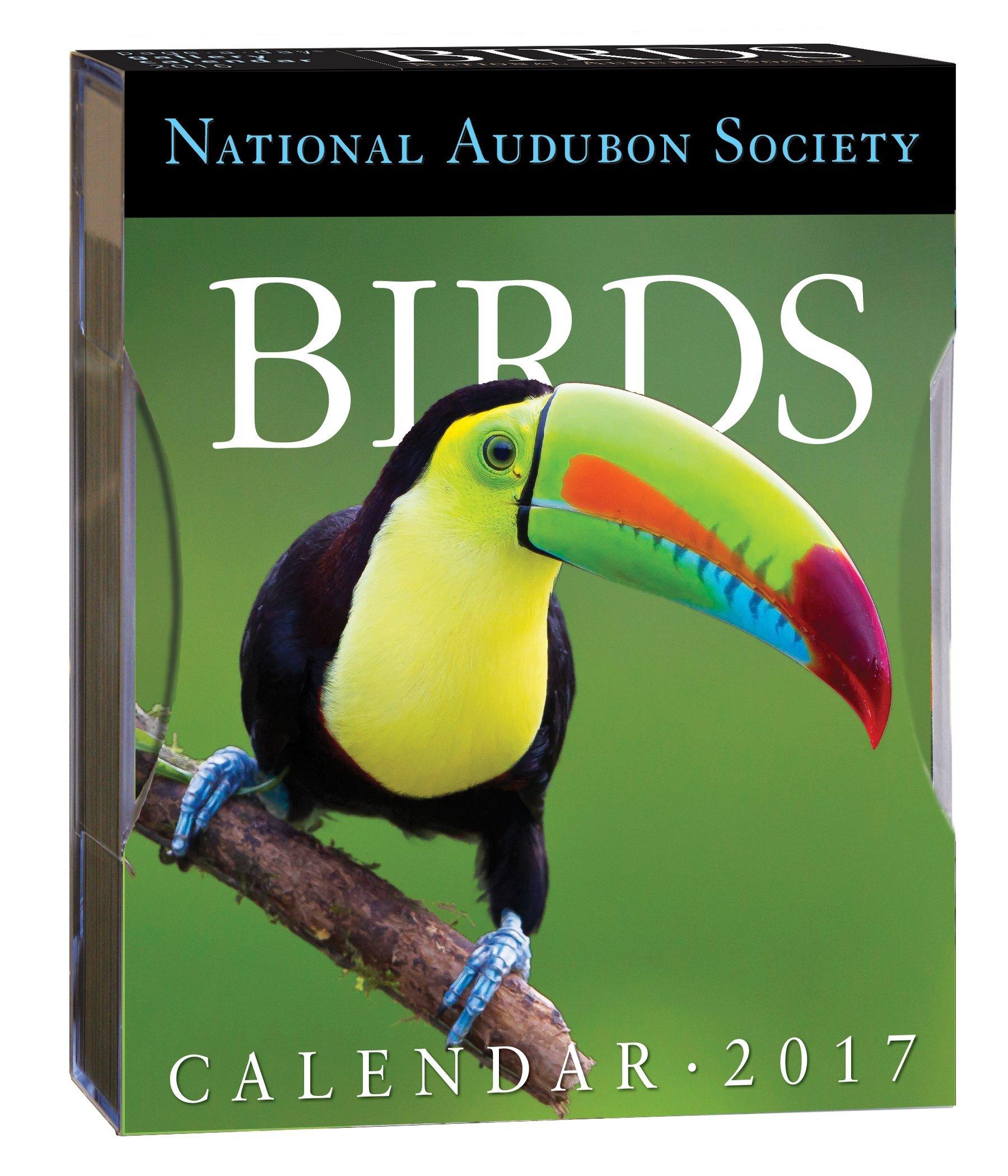 Birds Page-A-Day Gallery Calendar 2017 (Inglés) Calendario – Day to Day Calendar, Calendario de escritorio National Audubon Society 0761190104 Animals - Birds Photography