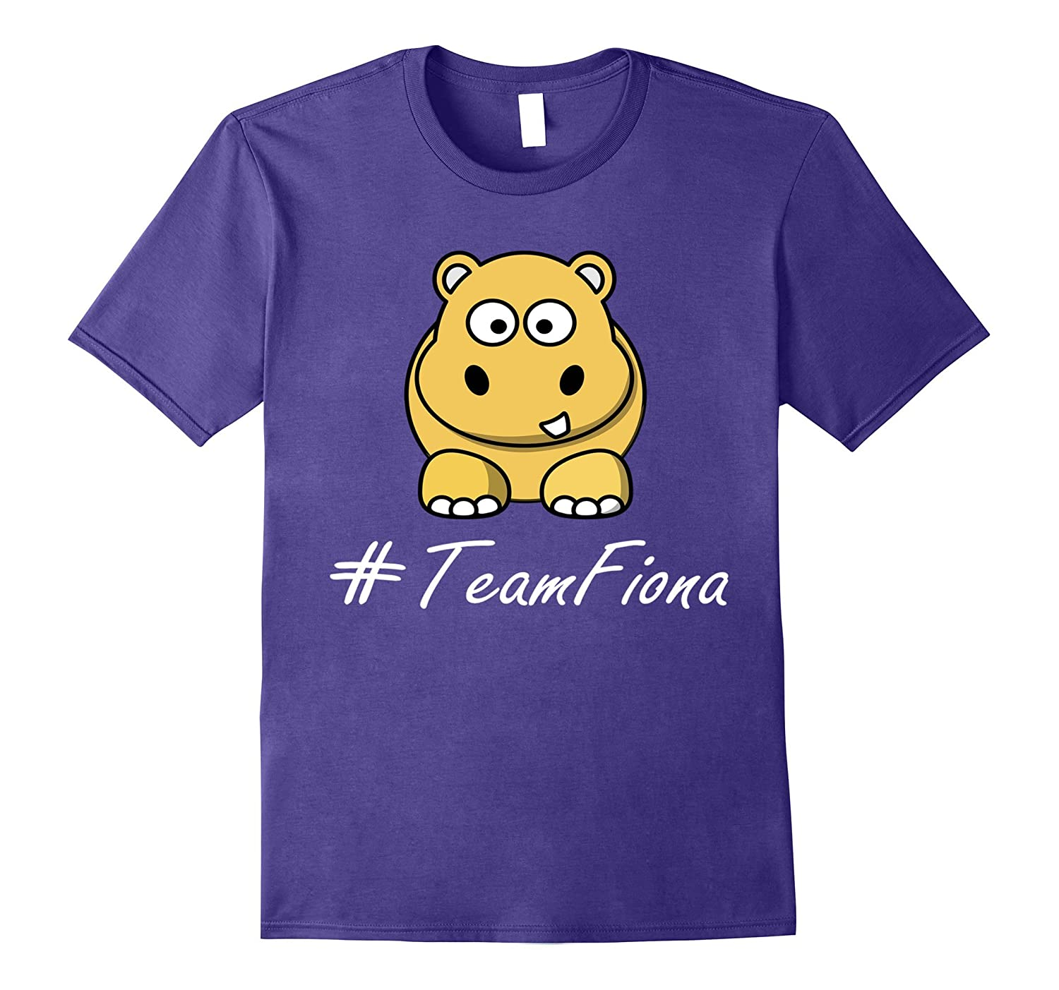 #TeamFiona, The Hippo Cute Baby Hippo Fiona T-Shirt-TH