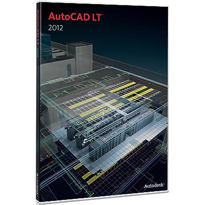Autodesk AutoCAD LT 2012 Commercial New SLM LAB 5-Pack