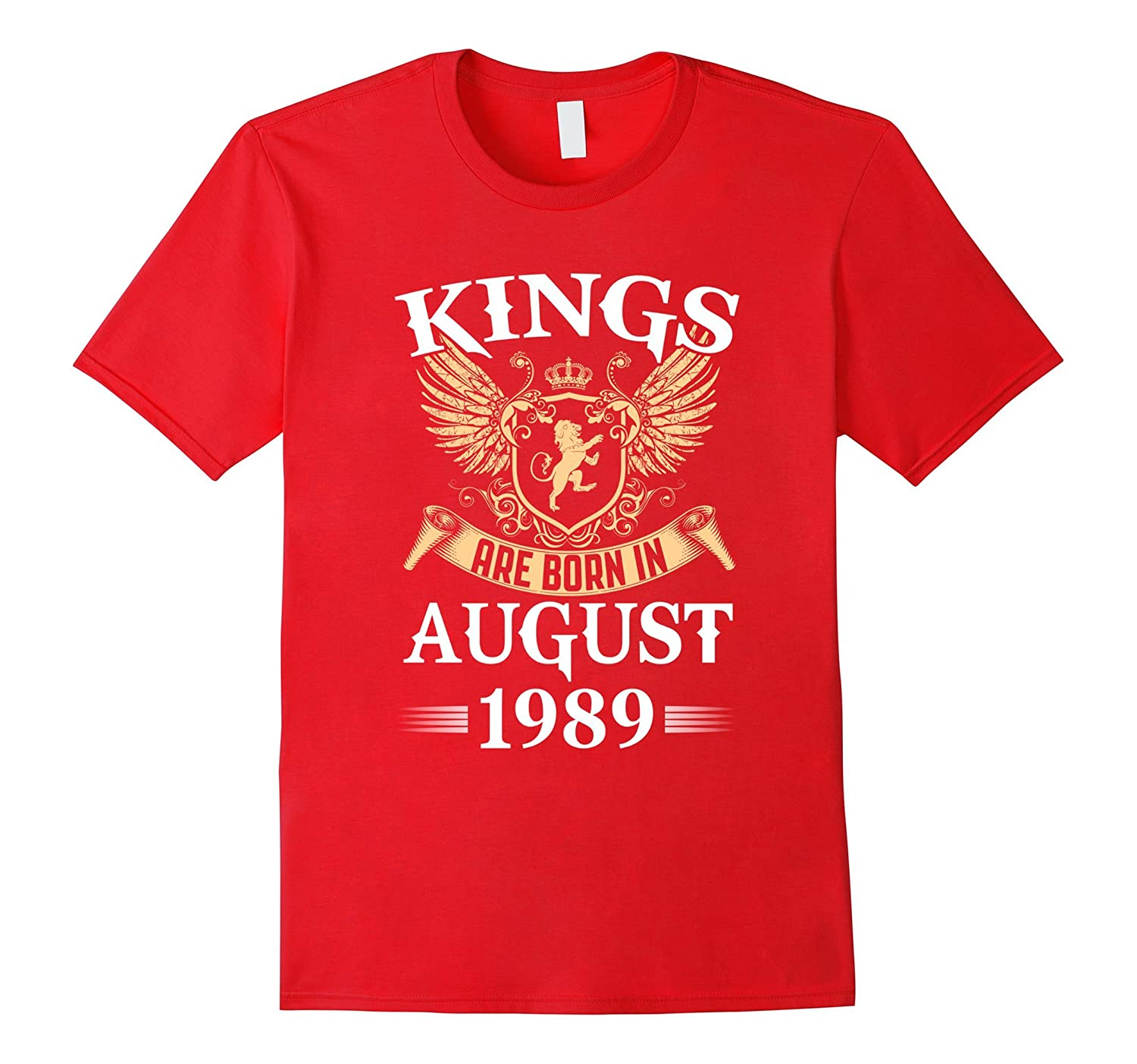 Kings Legends Are Born In August 1989 Birthday-Art