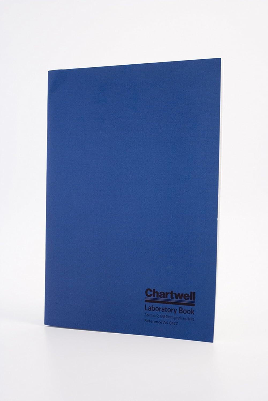 Chartwell, quaderno da laboratorio con copertina morbida, formato A4 dorso rigido Yellow Exaclair A4-646KZ