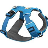 Ruffwear All Day Adventure Dog Harness, Large to Very Large Breeds, Adjustable Fit, Size: Large/X-Large, Blue Dusk, Front Range Harness, 30501-407LL1