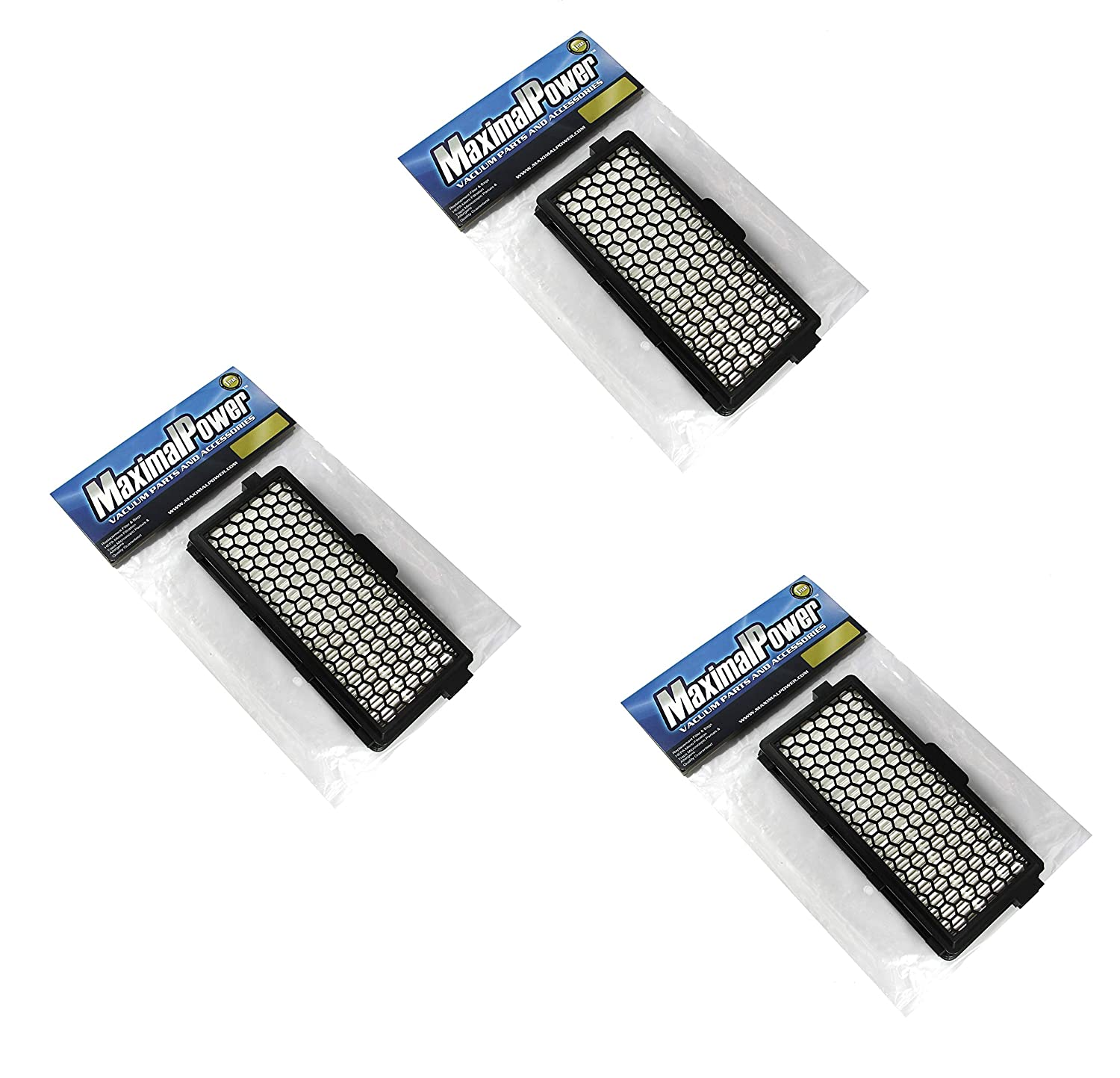 Maximalpower Miele SF-HA 50 Active HEPA Vacuum Filter for S4000 S5000 S6000 S7000 S8000 AH50-3 Pack