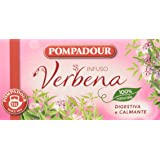 Pompadour Infusione per Bevande Calde, Verbena - 20 filtri - [confezione da 3]