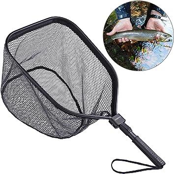 Amazon.com: ODDSPRO - Red de pesca con mosca, para pesca con ...