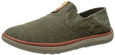 Merrell Men's Duskair Moc Slip-On Shoe, Dusty Olive, ...