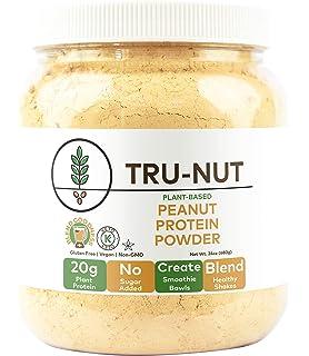 Tru-Nut Peanut Protein Powder - Original Flavor, 24 Ounce - Good Source of
