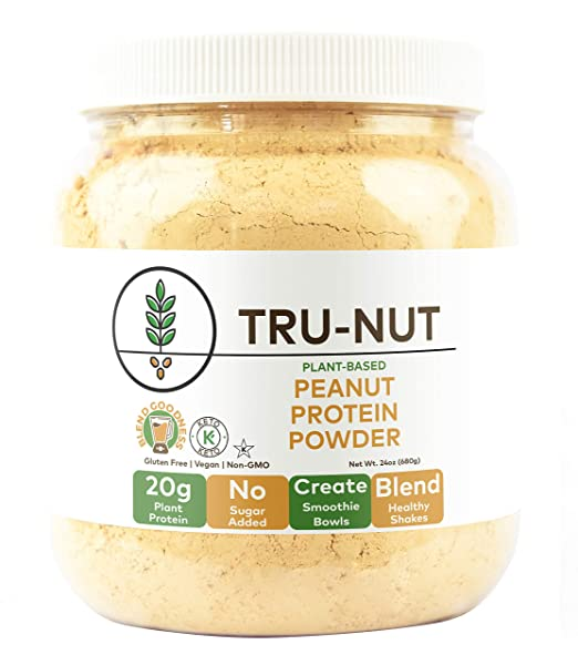 Tru-nut peanut protein powder