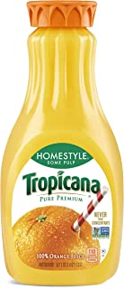 product image for Tropicana Orange Juice, Some Pulp, Homestyle, 52 Fl Oz
