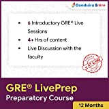 ConduiraOnline GRE LivePrep - Preparatory Course (Email Delivery in 2 hours - No CD)