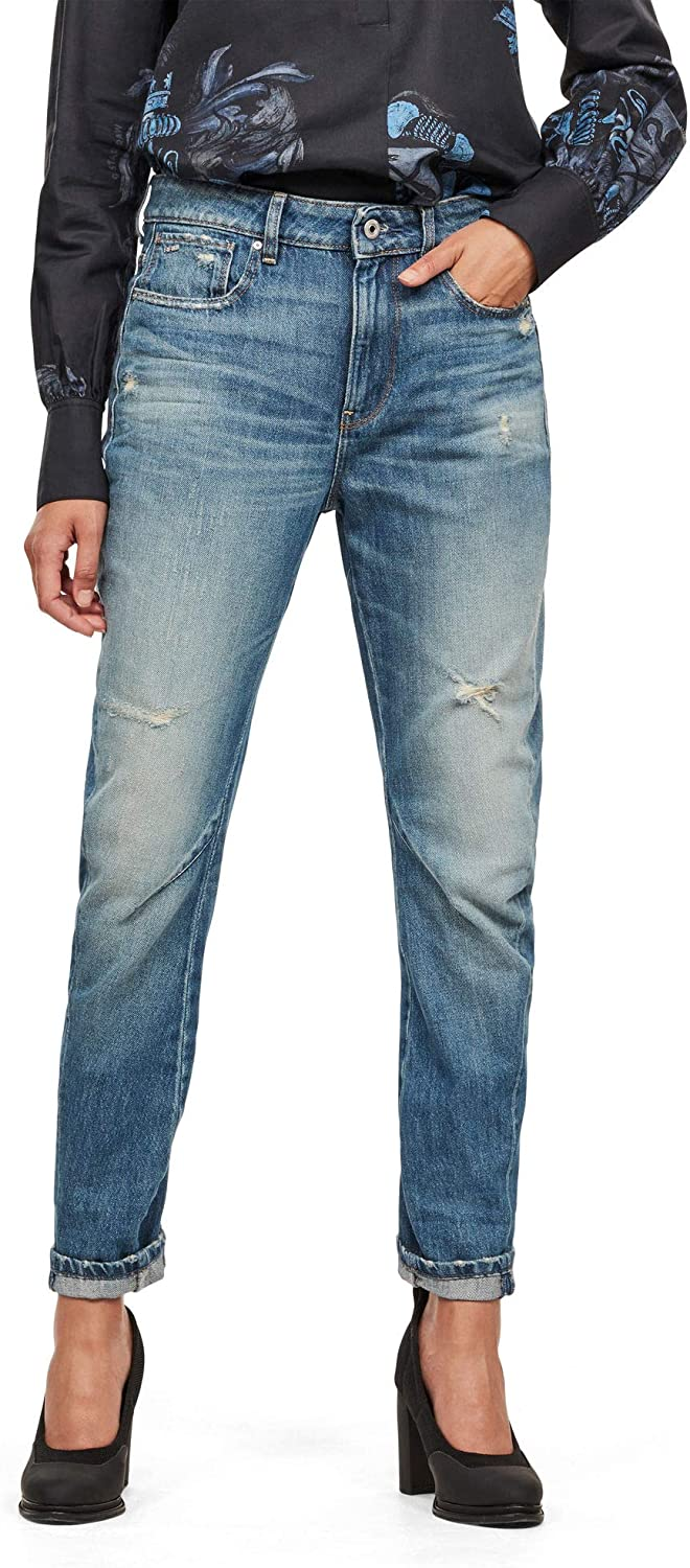 G-STAR RAW Arc 2.0 3D Mid Boyfriend Jeans Donna