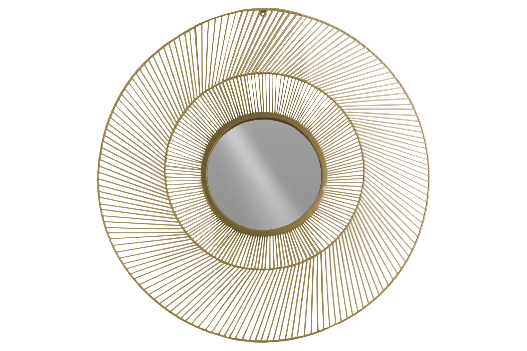 Urban Trends 31003 Metal Round Wall Mirror with Sunburst Design, Gold - Item Type: mirror Item material: metal Item finish: metallic finish - bathroom-mirrors, bathroom-accessories, bathroom - 81Phrl7VBML -