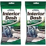 80 Car Dash Interior Clean Wipes 2 Packs of 40