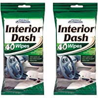 80 Car Dash Interior Clean Wipes 2 Packs