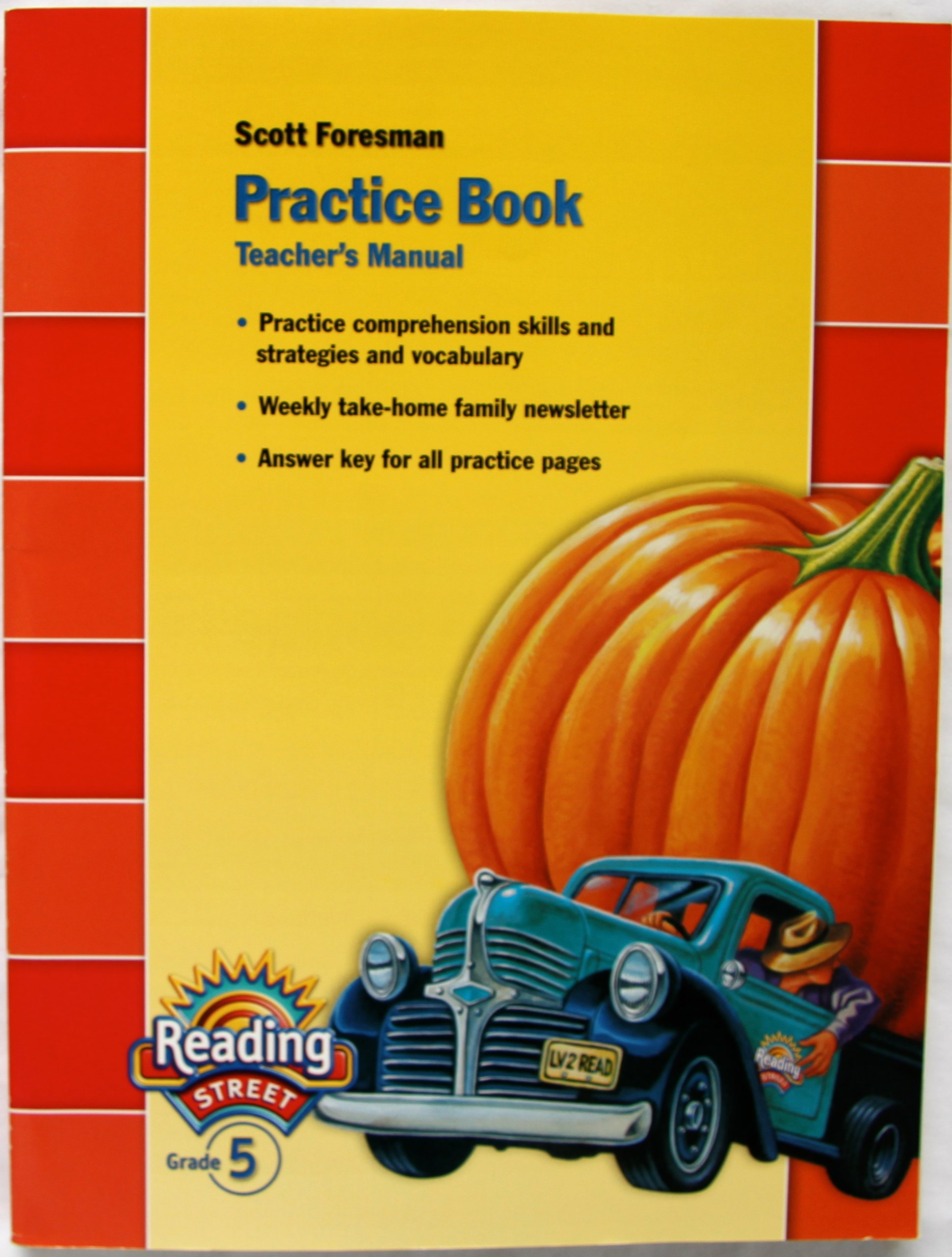 Worksheet Reading Books For Grade 5 amazon com practice book reading street grade 5 teachers manual 9780328145379 scott foresman books