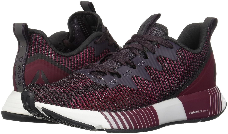 Reebok 10 Women's Fusion Flexweave Sneaker B077ZJWSWN 10 Reebok B(M) US|Smokey Volcano/Twstd Berry/R a423a3