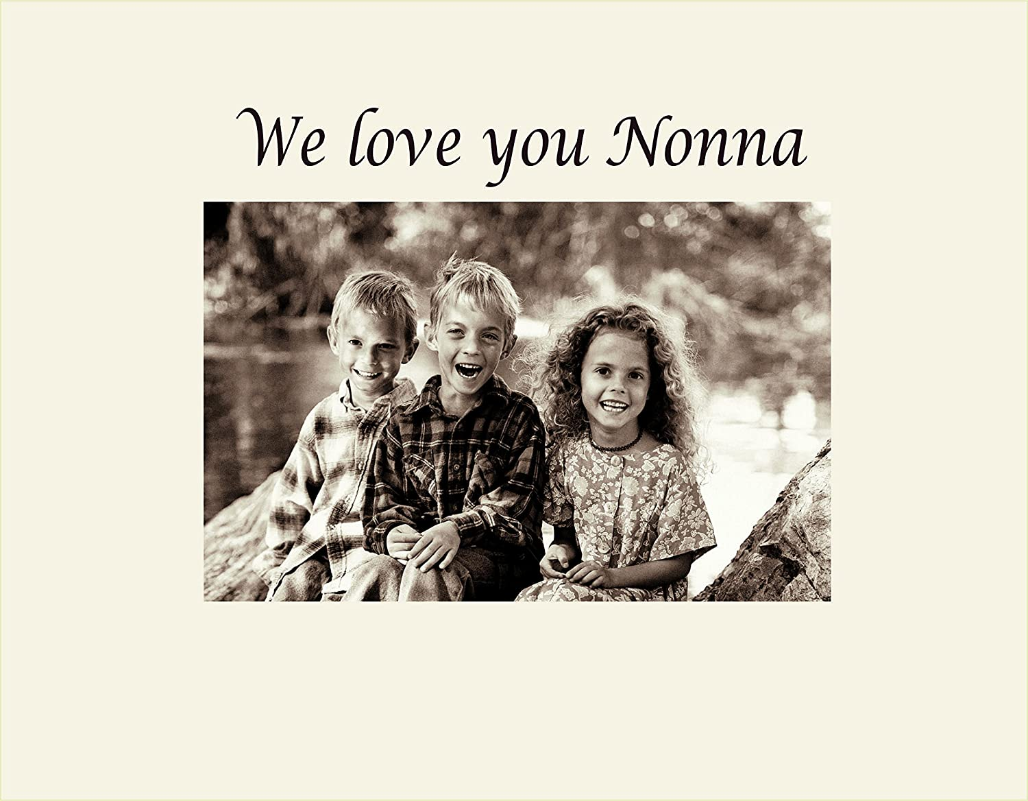 Amazon.com - Infusion Gifts 9006-SO We Love You Nonna Photo Frame ...