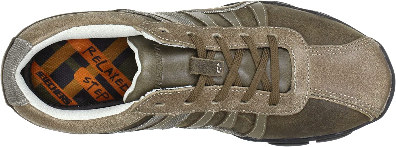 Skechers Diameter Relative 62320 BRN, Herren Sneaker, Braun aL1Fi