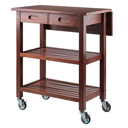 Attirant Winsome Wood Jonathan Kitchen Cart