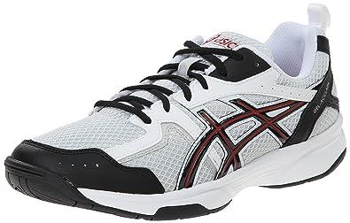 ASICS Men's Gel-Acclaim Training Shoe, Silver/Red/Black, ...