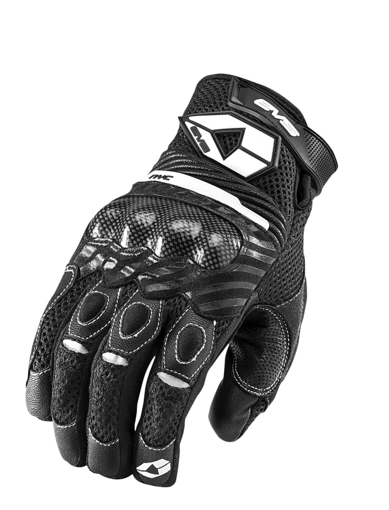 EVS Sports NYC Street Gloves (Black, Large)