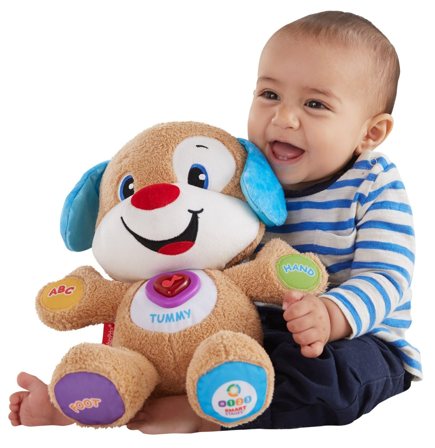 Fisher-Price Laugh & Learn Smart Stages Puppy Mattel BLW32