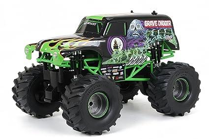New Bright 61030g 9 6v Monster Jam Grave Digger Carro A Control