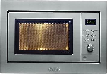 Candy MIC 256 EX 25L 1400W Acero inoxidable - Microondas (25 L, 1400 W