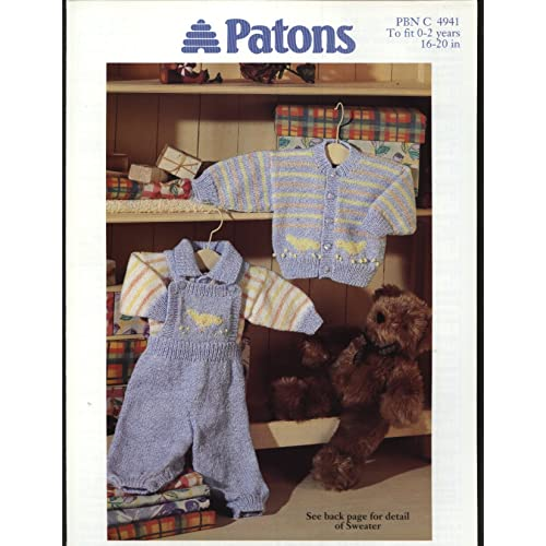 Patons Baby Knitting Patterns Amazon