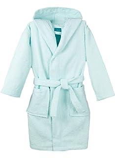 ZOLLNER Albornoz para niños y niñas con Capucha, algodón 100%, Tallas, 021