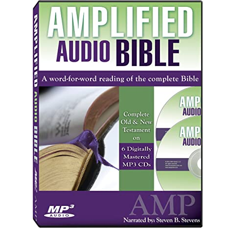 Amplified Bible on 6 MP3 Audio CDs (Complete Old and New Testament)