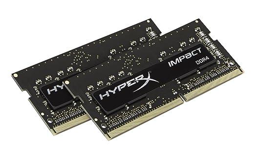 52 opinioni per HyperX Impact Memoria DDR4 da 8 GB, 2133 MHz, CL13 SODIMM 260-pin, Kit 8 GB,