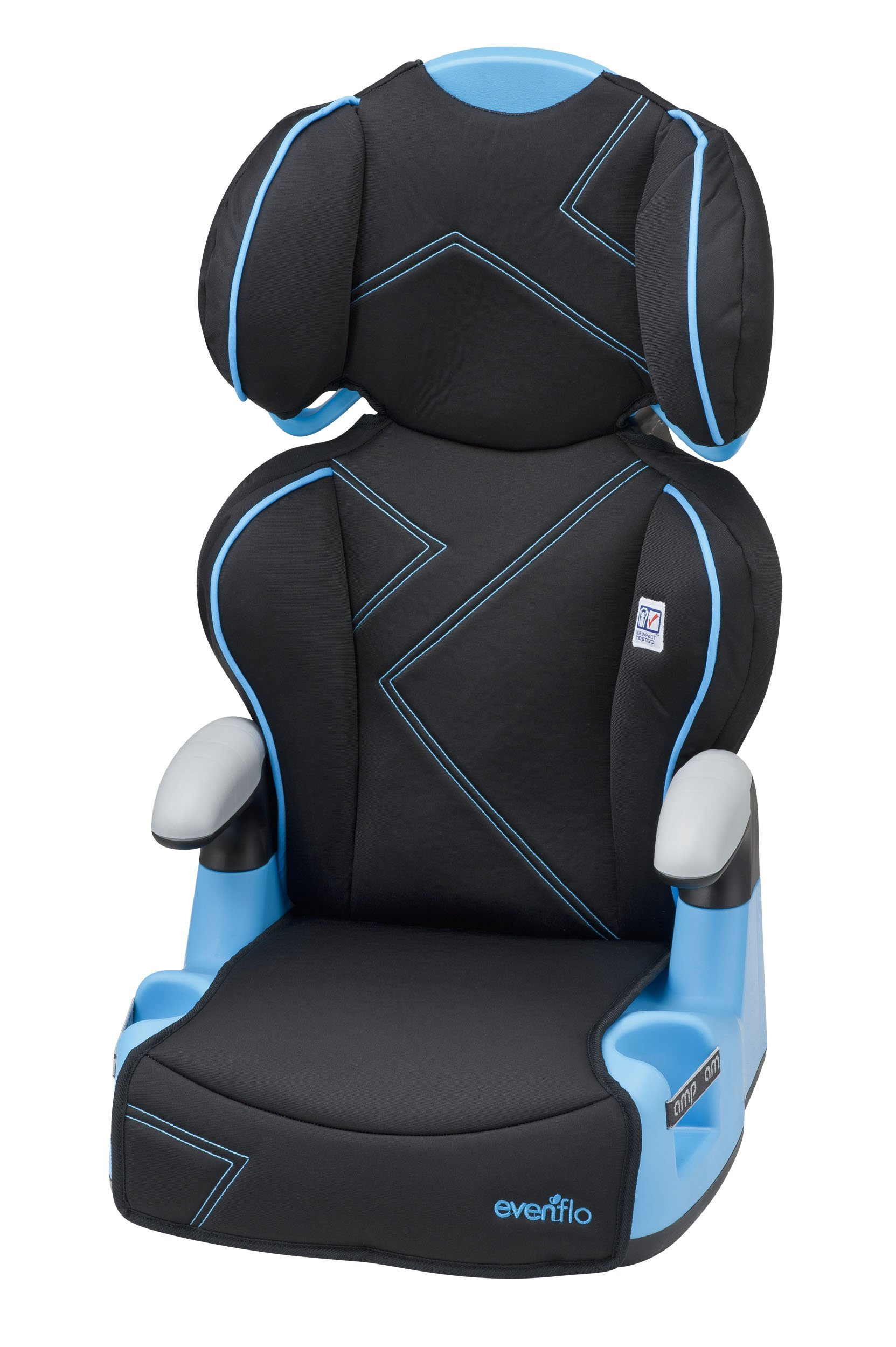 Evenflo Sureride Dlx Convertible Car Seat >> Amazon.com : Evenflo Tribute LX Convertible Car Seat - Neptune : Baby